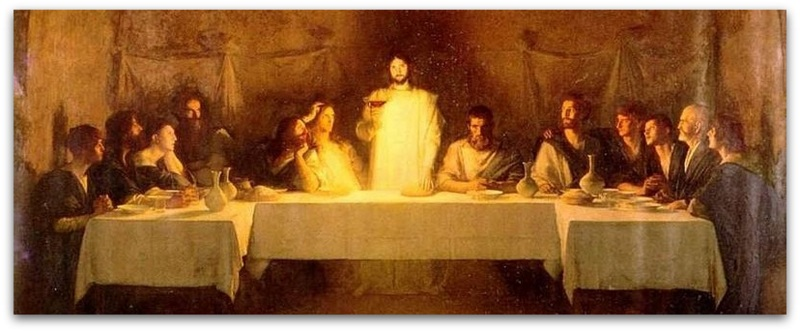 Completion of the Last Supper-001