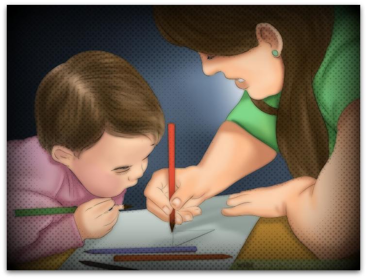 Осум успешни методи за воспитување на децата3-001