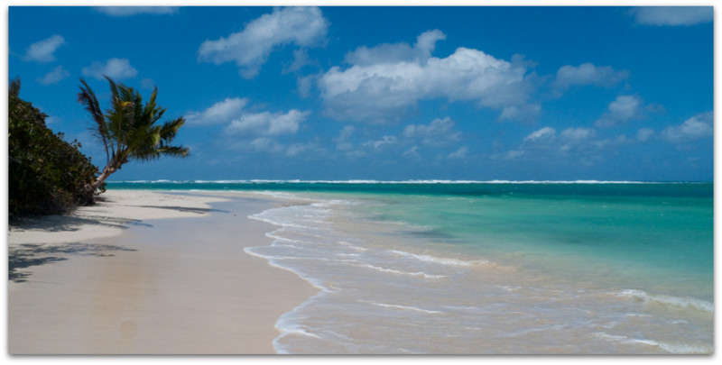 Фламенко плажа - Кулебра, Порторико