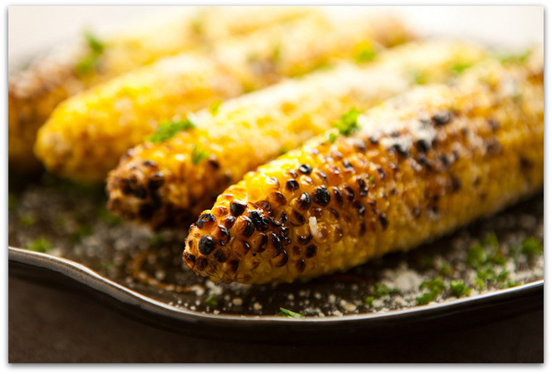 Roasted corn with fresh spices-001