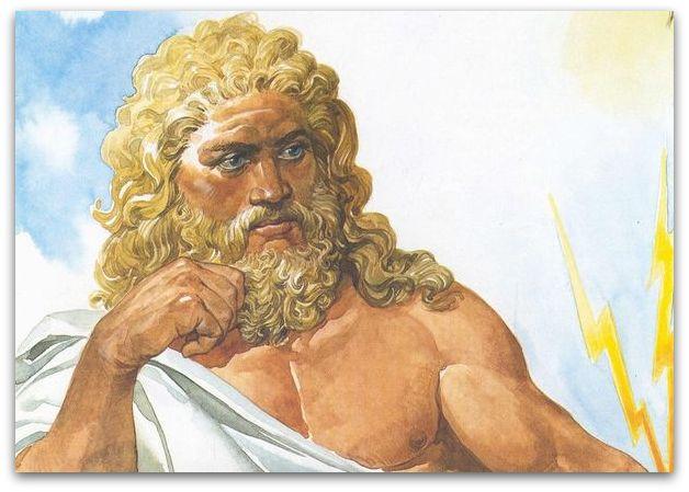 Јупитер, крал на боговите.