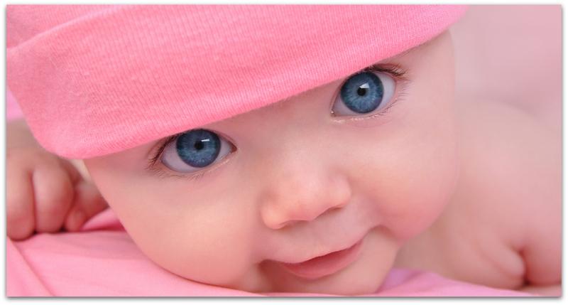 Зошто новороденчињата имаат сини очи