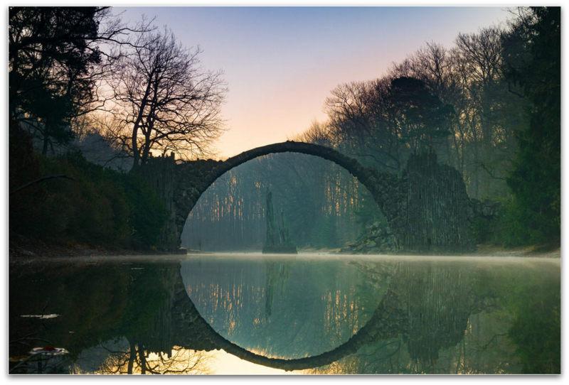 Rakotzbrücke   Ѓаволски мост   Фото Видео